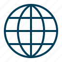 browser, global, globe, internet, network, web, website icon