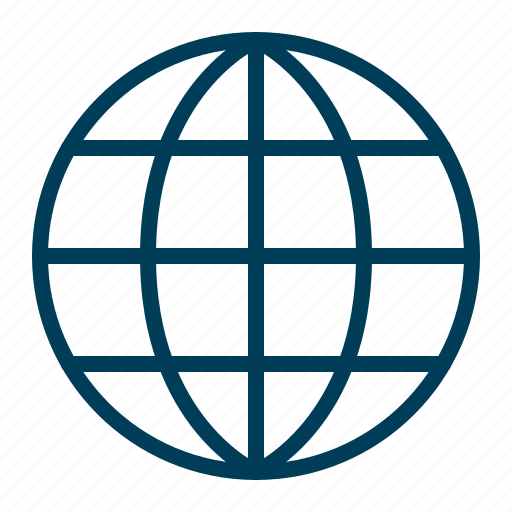 browser, global, globe, internet, network, web, website icon