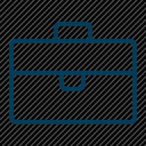 Work, briefcase, business, job, office, portfolio, suitcase icon - Download on Iconfinder