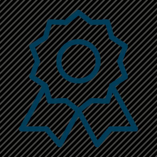 Award, achievement, medal, prize, reward, ribbon, winner icon - Download on Iconfinder