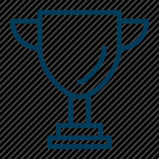 award, badge, cup, prize, reward, trophy, winner icon