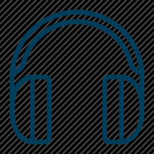 audio, headphones, listen, music, phones, play, song icon