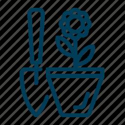 agriculture, flower, garden, gardening, plant icon