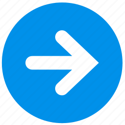 arrow, direction, next, right icon