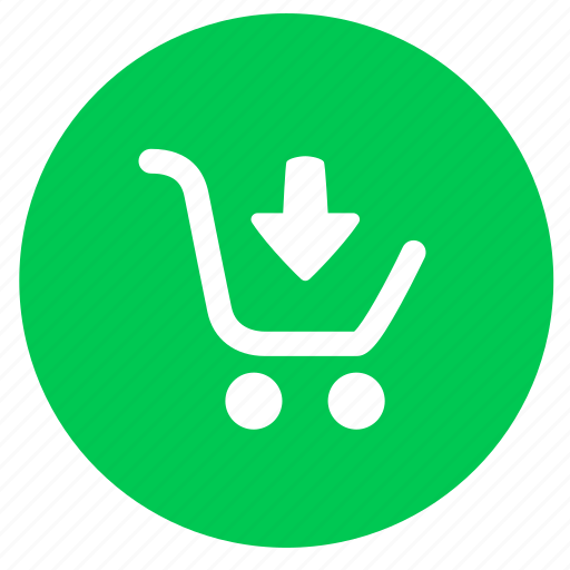 Arrow, buy, cart, down, ecommerce, payment, shopping icon - Download on Iconfinder
