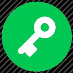 key, lock, locked, password, safe, security icon