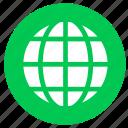 earth, globe, web, world