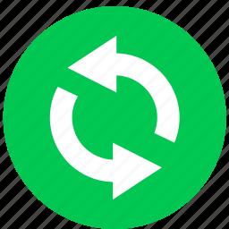 arrow, arrows, refresh, reload icon