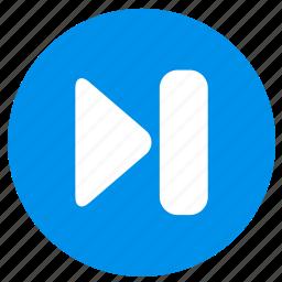 arrow, direction, forward, next icon