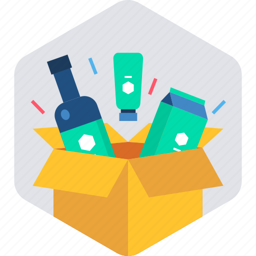 box, delivery, designing, package, present, stationary, toolkit icon