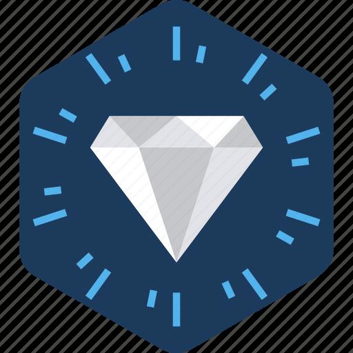 best, diamond, jewel, jewelry, precious, star, stone icon