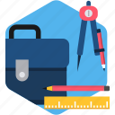 business, office, stationary, stationery, work icon