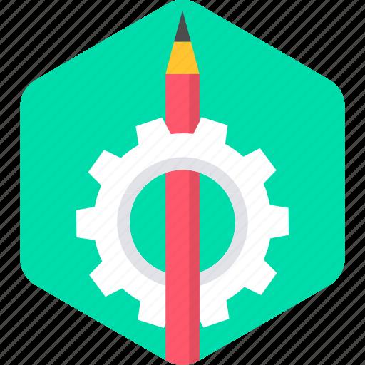 drawing, pen, pencil, process, work, write, writing icon