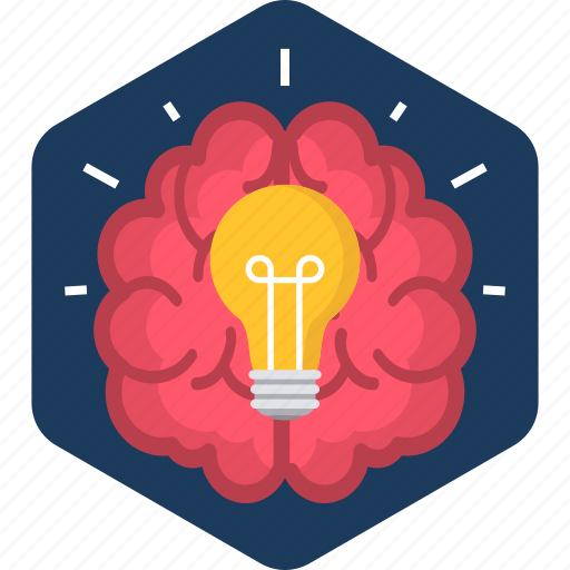 brain, bulb, electric, electricity, energy, idea, lamp icon