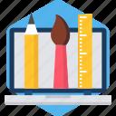 brush, creative, creativity, graphic, graphics, paint, painting icon
