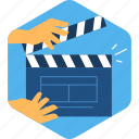 action, cinema, entertainment, film, movie, multimedia, video icon