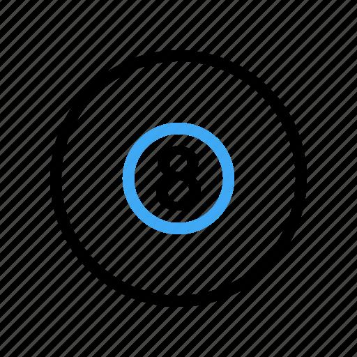ball, billiard, cue, game icon