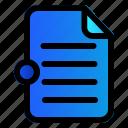 arsip, data, document, file