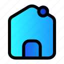home, interface, user icon