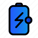 battery, charged, charging, energy icon