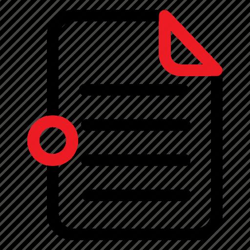 arsip, data, document, file icon