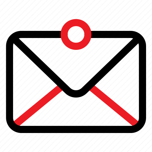 mail, message, user icon