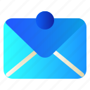 mail, message, ui, user icon