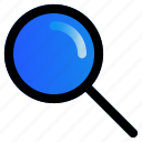 find, interface, magnifier, magnifying, search, user