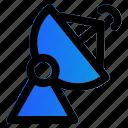 antenna, satelite, antena, dish icon
