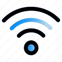 connecting, internet, signal, wifi icon
