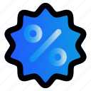 ecommers, sale, shopping, discount icon