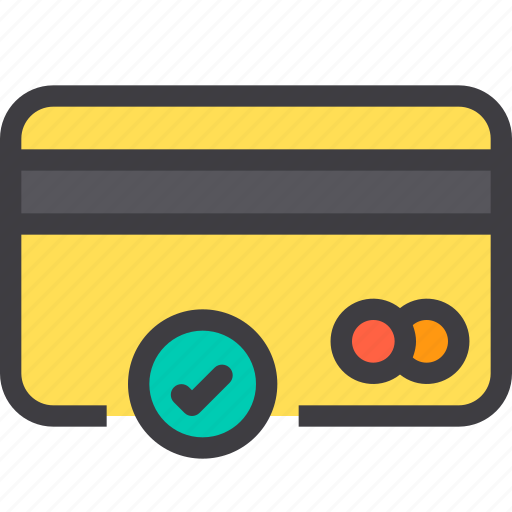 card, check, credit, payment icon