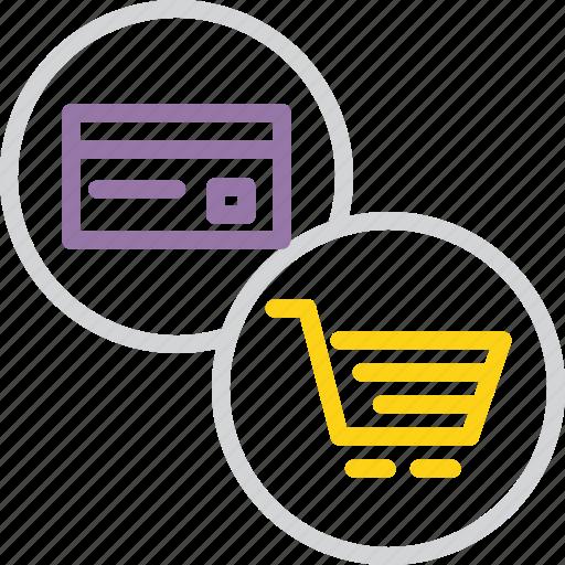 banking, card, cart, credit, debit, shopping, swipe icon