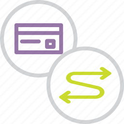 banking, card, connect, credit, debit, payment, transaction icon