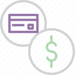 balance, banking, card, credit, debit, dollar, swipe icon