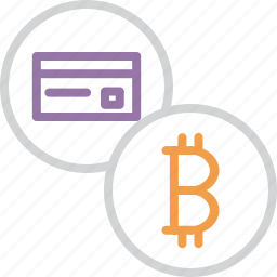 banking, bitcoin, card, credit, currency, debit, online icon