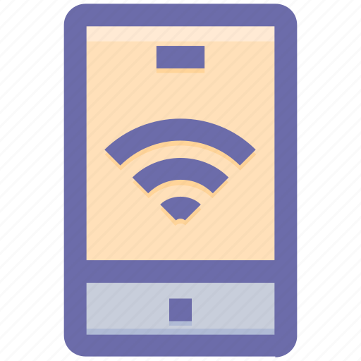 app, mobile, signals, smartphone, wifi, wifi mobile icon