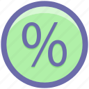 discount, percent, percentage, percentage sign, sales icon
