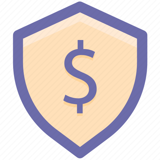 dollar, dollar sign, money, payment, protection, security icon