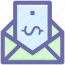 email, letter, letter envelope, message, newsletter, post icon