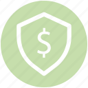 .svg, dollar, dollar sign, money, payment, protection, security icon