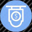 .svg, board, currency, dollar, dollar sign icon
