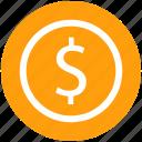 .svg, currency, dollar, dollar sign, dollar value, finance, money icon