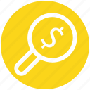 .svg, account, dollar search, dollar sign, find, magnifying, search icon