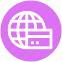 .svg, cash, credit card, payment, travel, visa, world icon
