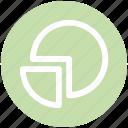 .svg, analytics, chart, diagram, graph, pie, pie chart icon