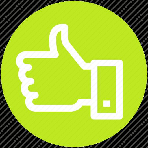 .svg, favorite, hand, like, like hand, thumb, vote icon