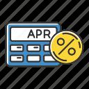 annual, apr, calculation, calculator, interest, percentage, rate