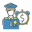 army, credit, loan, man, military, soldier, veteran icon