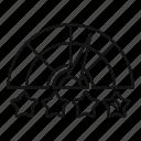 arrow, credit, rating, score, speed, star, success icon